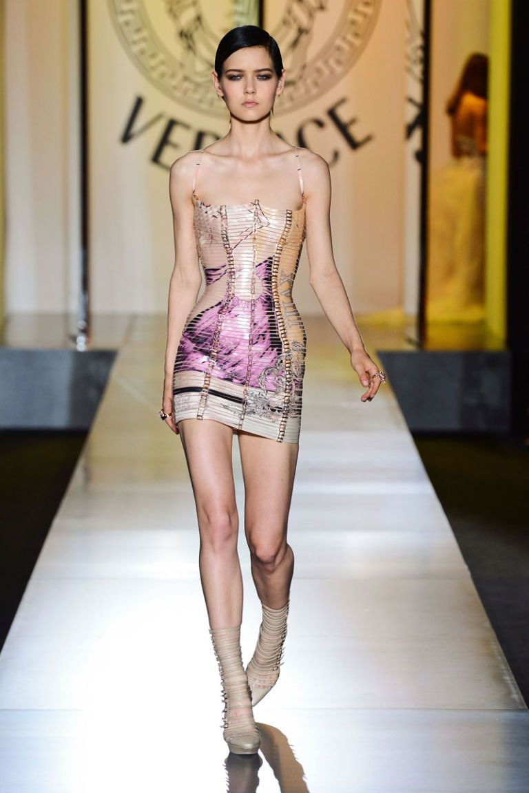 Versace Fall 2012 Haute Couture Photos
