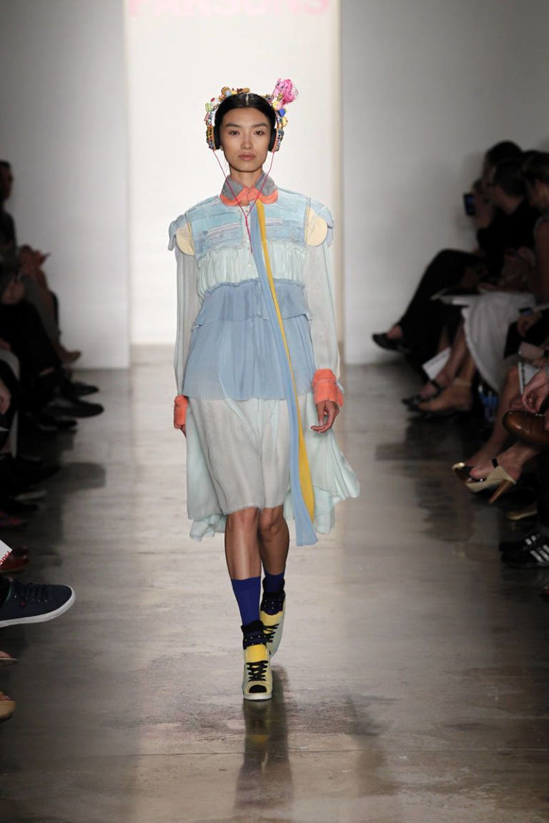 jie li parsons mfa spring 2013 ready-to-wear photos