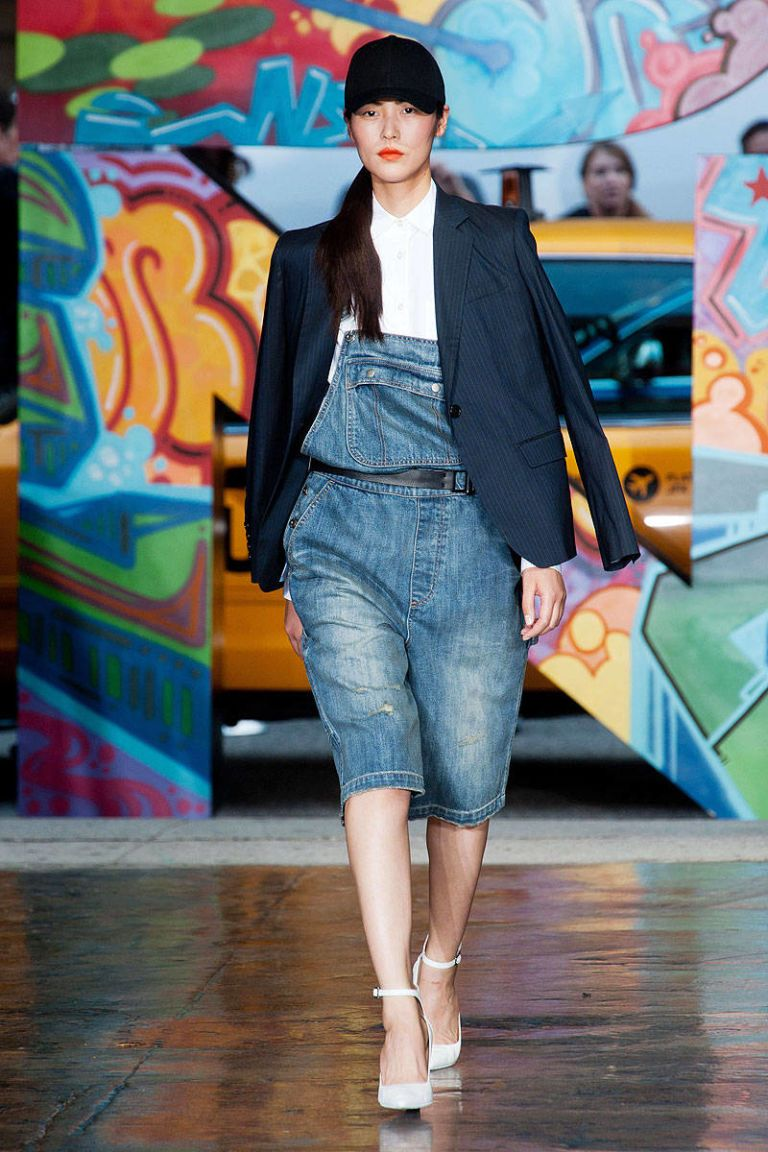dkny spring 2014 ready-to-wear photos