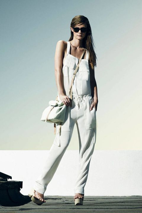 Eyewear, Shoe, Shoulder, Sunglasses, Bag, Joint, Human leg, White, Style, Street fashion,