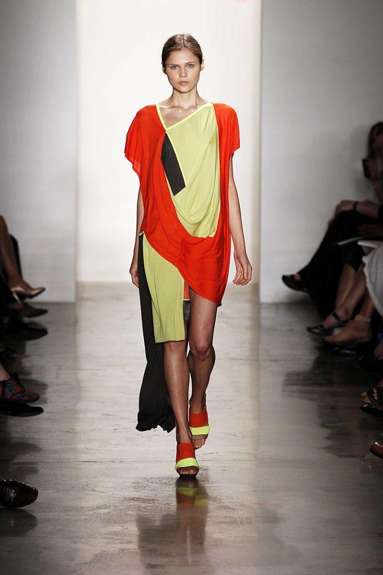 soojin kang parsons mfa spring 2013 new york fashion week