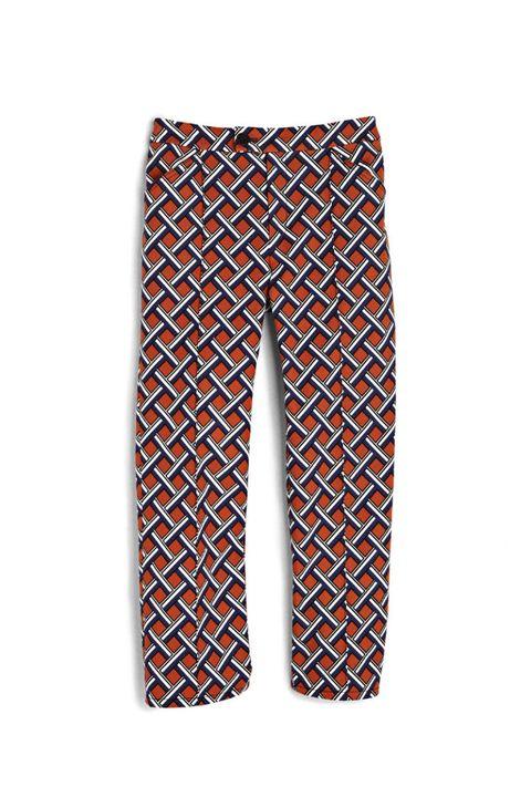10 crosby derek lam printed graphic pants