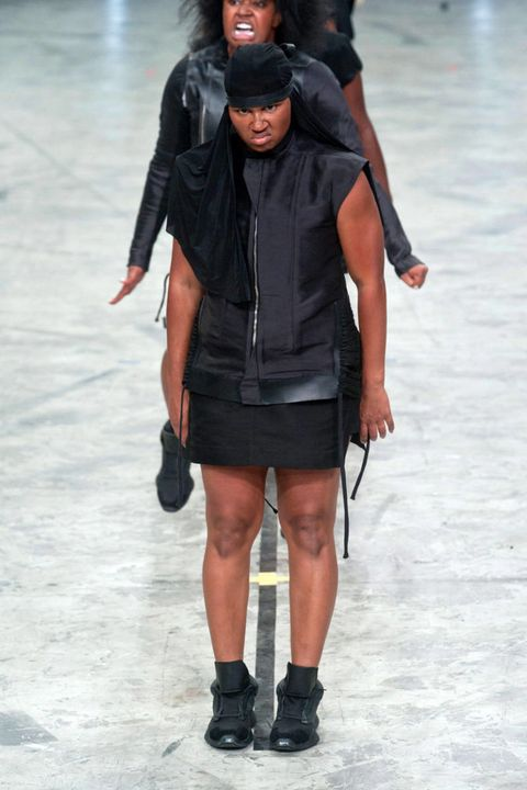rick owens spring 2014 ready-to-wear photos