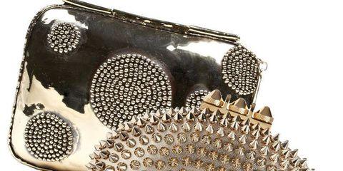 Audio equipment, Audio accessory, Triangle, Symbol, Costume accessory, Brass, Bronze,
