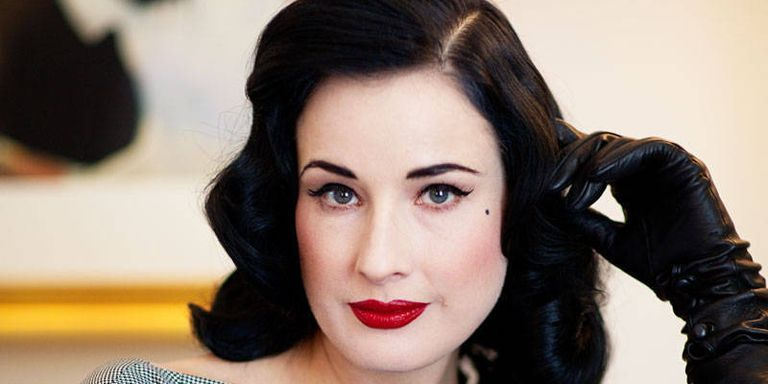 Dita von teese makeup tutorial by anastasiya shpagina youtube.