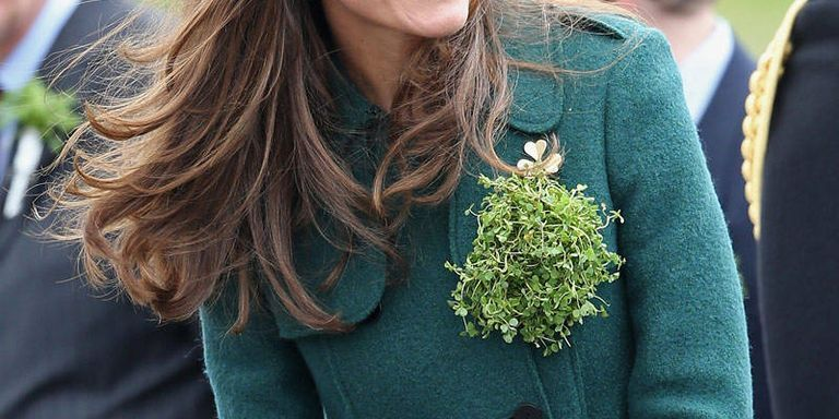 Kate Middleton's Shamrock-Adorned St. Patrick's Day Outfit Is Better Than Ever This Year