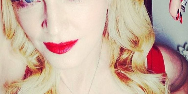 Madonna Grows Out Her Armpit Hair - Madonna Pits Instagram-6520