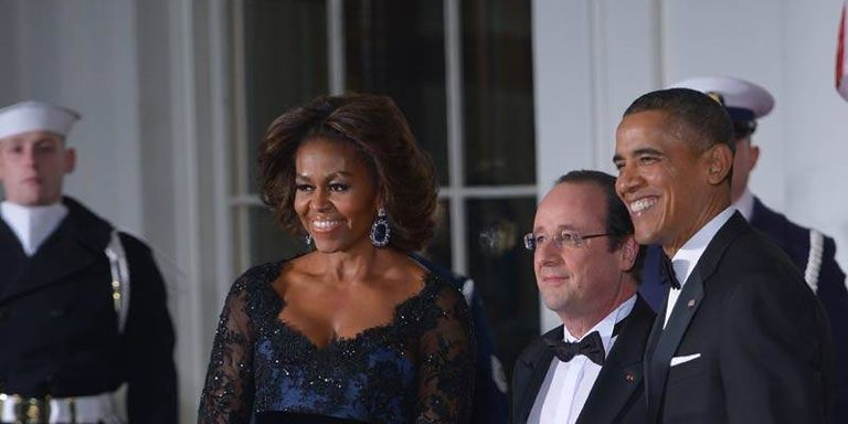 Best of the State Dinner: Mindy Kaling, Mobama's Gown, and a Leggy Veep Sighting