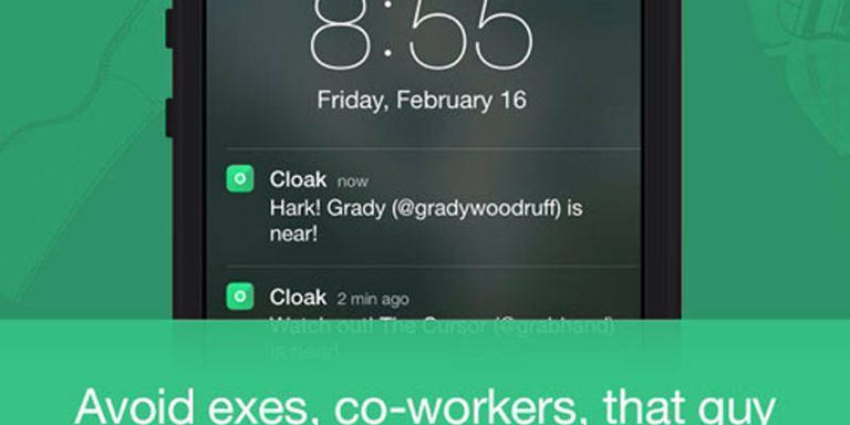 Now There's an App for Avoiding Friends