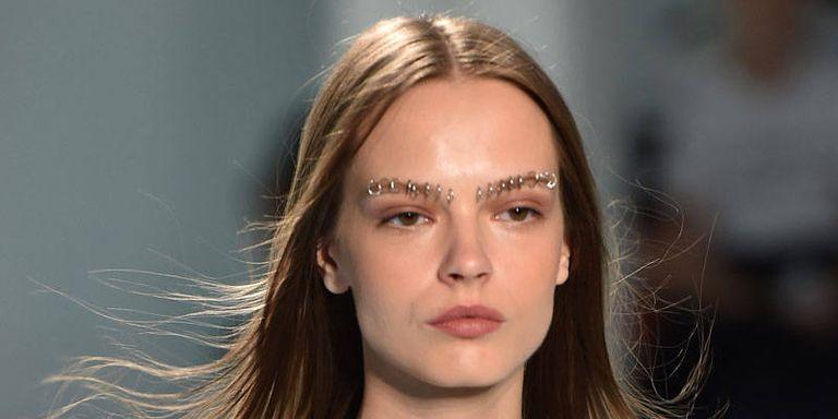Rodarte Gave Its Models Eyebrow Piercings