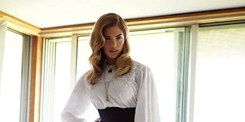 Tempting Kate: How to Get Kate Upton's ELLE Cover Look