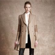 Clothing, Brown, Collar, Sleeve, Trousers, Coat, Textile, Outerwear, Style, Formal wear,