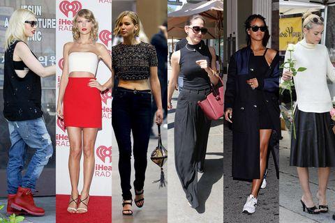 Clothing, Eyewear, Footwear, Leg, Trousers, Outerwear, Fashion accessory, Jeans, Style, Hat,