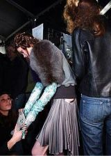 Just Cavalli Fall 2004 Ready-to-Wear Backstage 0003