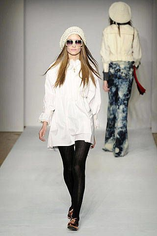 Karen Walker Fall 2008 Ready-to-wear Collections - 002