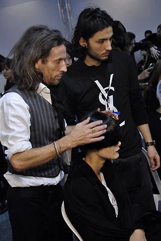 Yves Saint Laurent Fall 2008 Ready-to-wear Backstage - 003