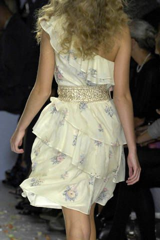 Luisa Beccaria Spring 2009 Ready-to-wear Detail - 003