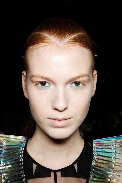 DAVID KOMA SPRING 2012 RTW BEAUTY 002