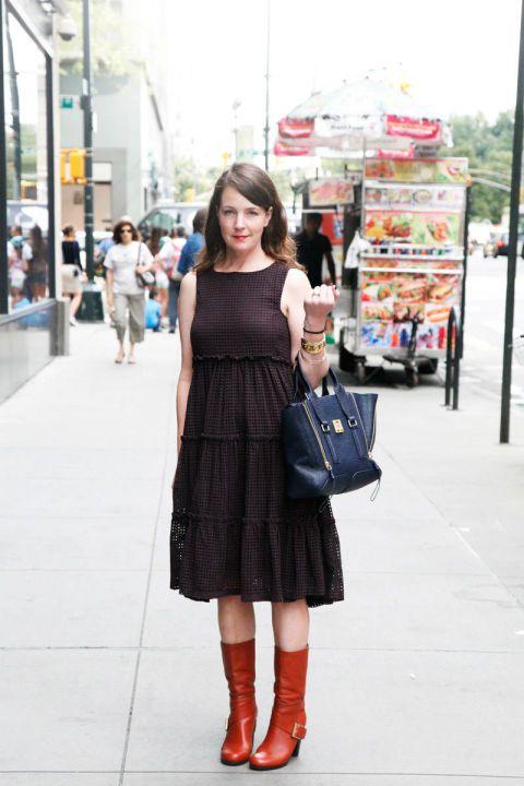 Clothing, Photograph, Bag, Style, Street, Street fashion, Dress, Fashion accessory, Fashion, Luggage and bags,