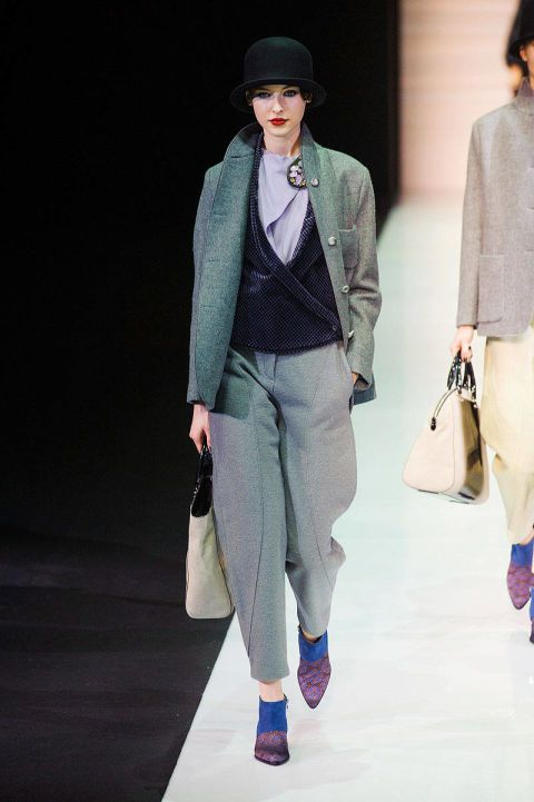 emporio armani fall 2013 ready-to-wear photos