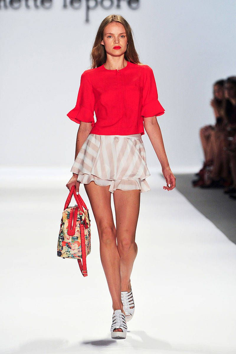 nanette lepore spring 2014 ready-to-wear photos