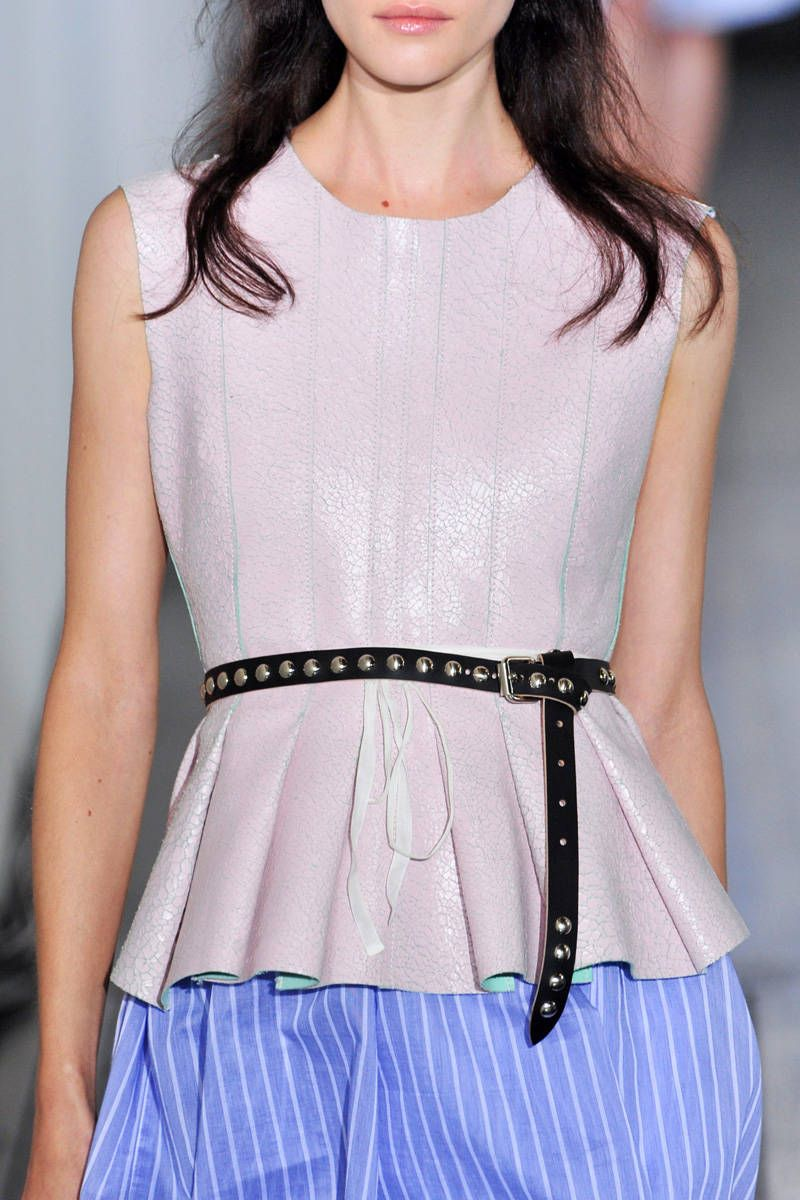 hache spring 2014 ready-to-wear photos