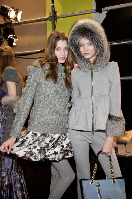 06999a9222 Moschino Cheap & Chic Fall 2011 Backstage - Moschino Cheap & Chic  Ready-To-Wear Collection