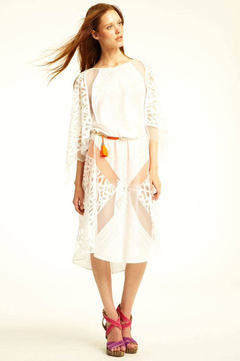 BCBG Max Azria Resort 2012 Look 01