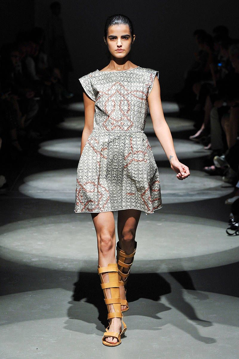 hache spring 2013 new york fashion week