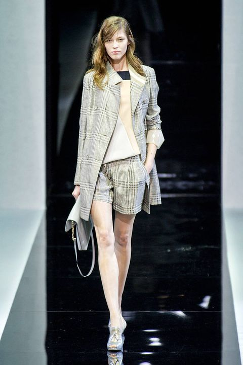 emporio armani spring 2013 new york fashion week