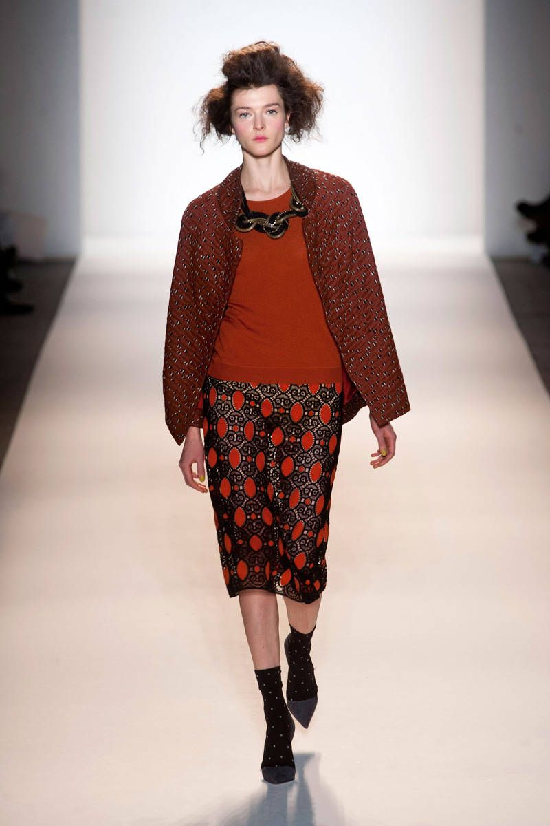 lela rose fall 2013 ready-to-wear photos