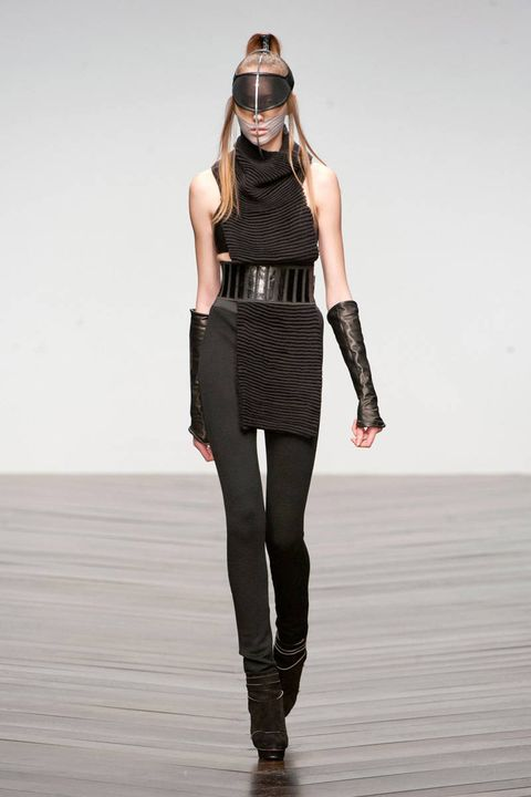 haizhen wang fall 2013 ready-to-wear photos