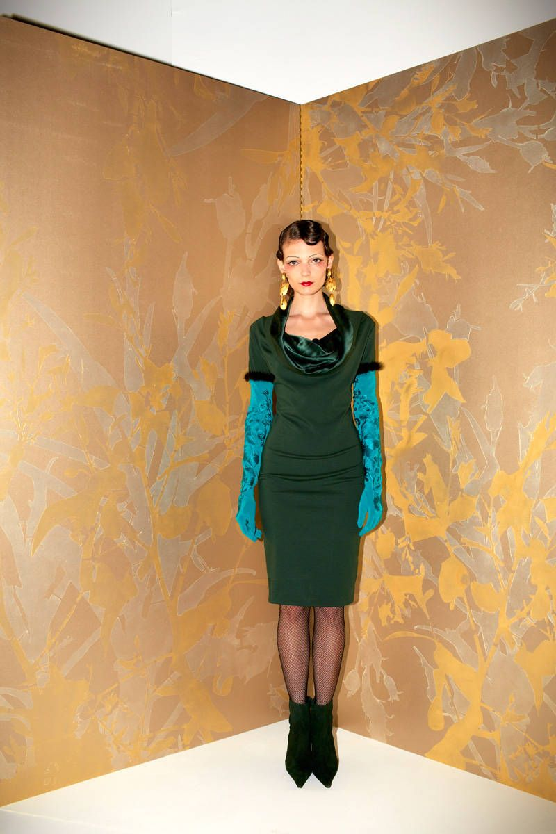 josie natori fall 2013 ready-to-wear photos