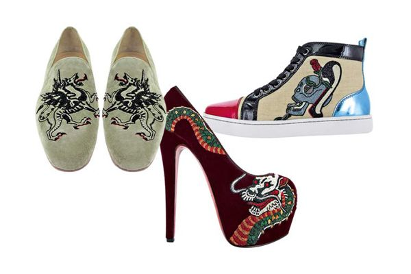 louboutin custom shoes