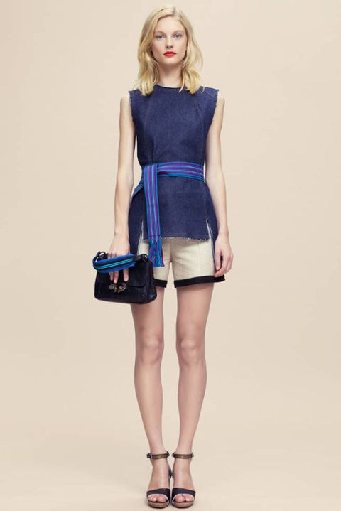 DEREK LAM RESORT 2012 LOOK 01
