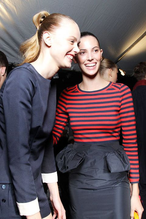 MARC BY MARC JACOBS SPRING 2012 RTW BACKSTAGE 003