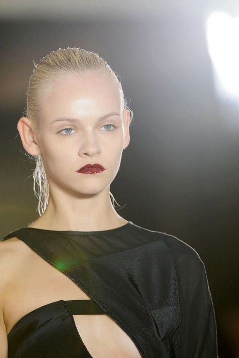 Anthony vaccarello SPRING 2012 RTW beauty 003