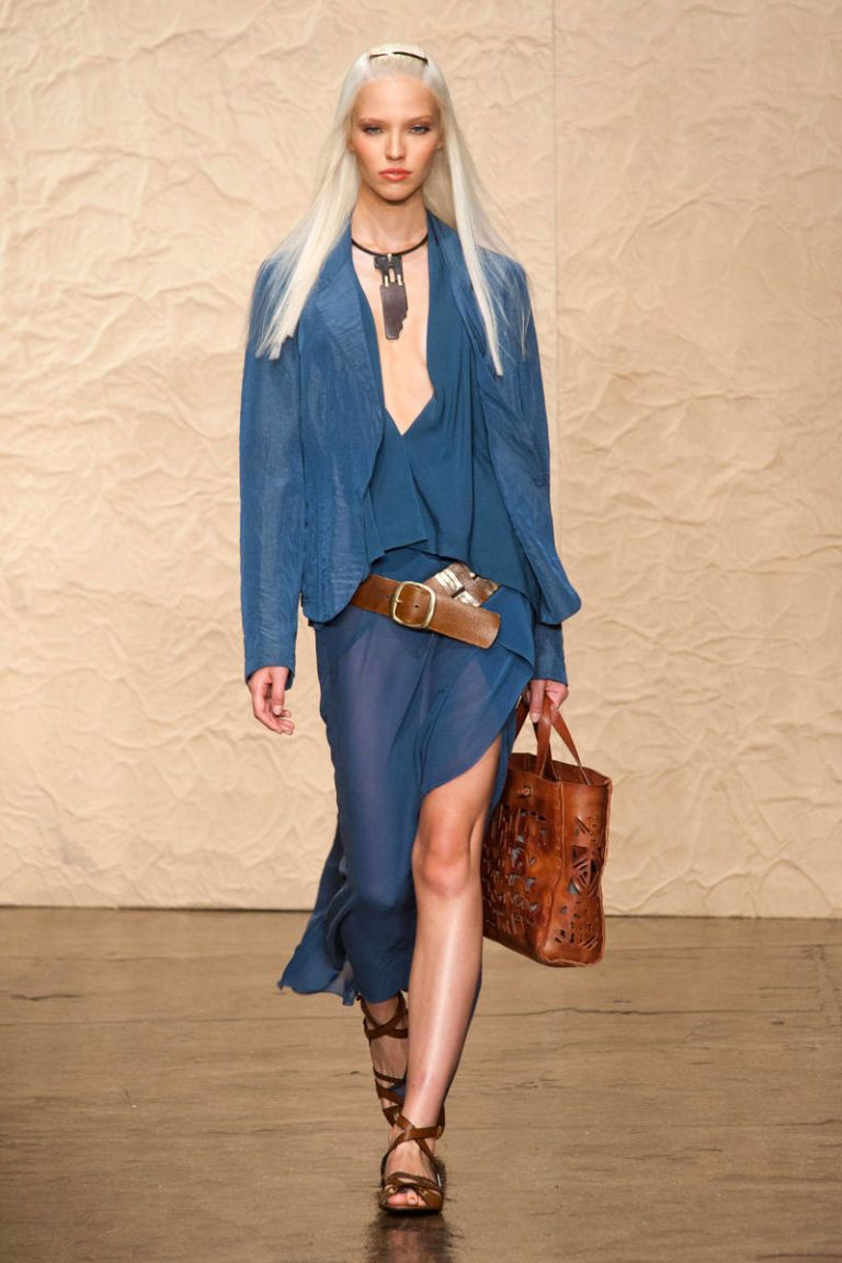 donna karan new york spring 2014 ready-to-wear photos
