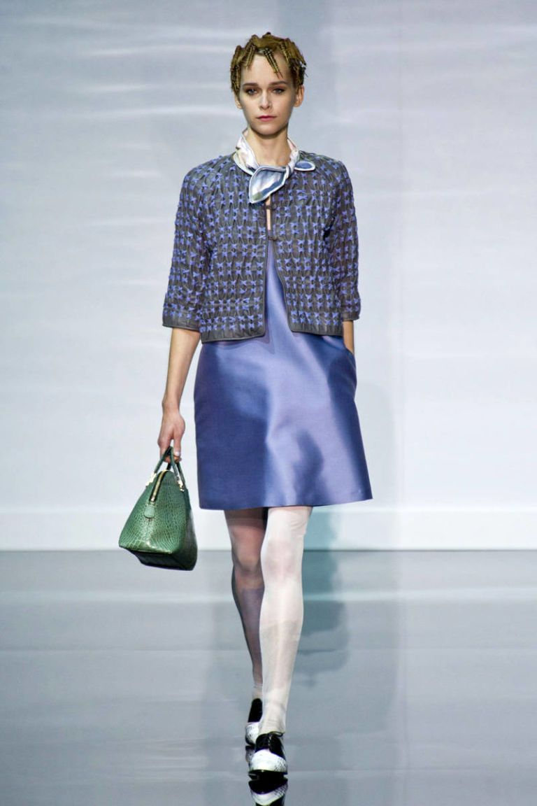 emporio armani spring 2014 ready-to-wear photos