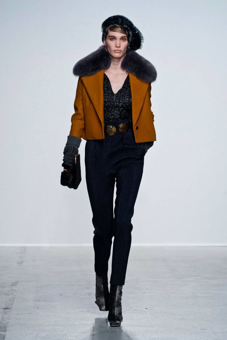 john galliano fall 2014 ready-to-wear photos