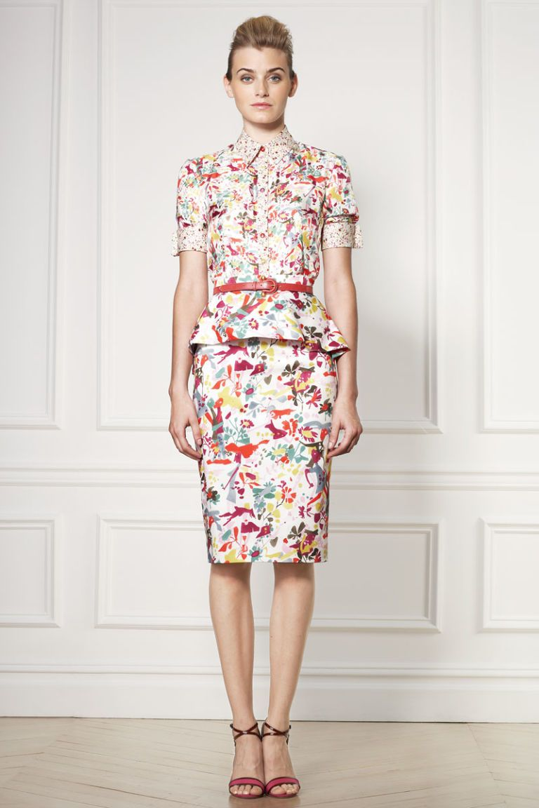 Carolina Herrera Resort 2013 Fashion Week Photos