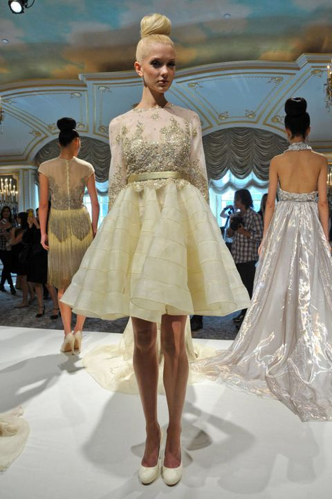 dennis basso spring 2013 ready-to-wear photos