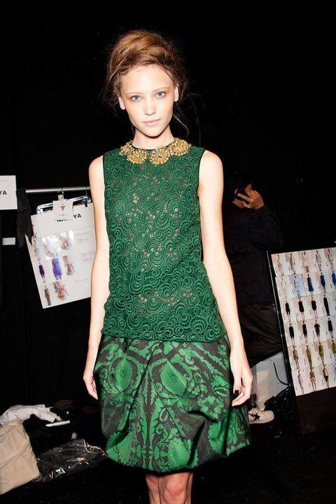 vera wang spring 2013 new york fashion week