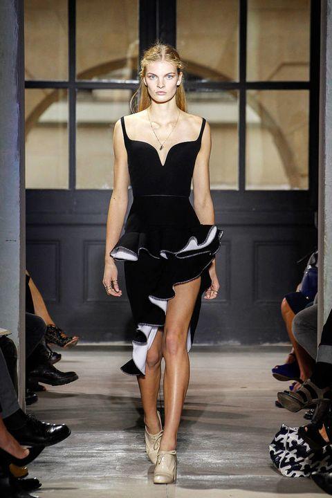 balenciaga spring 2013 new york fashion week