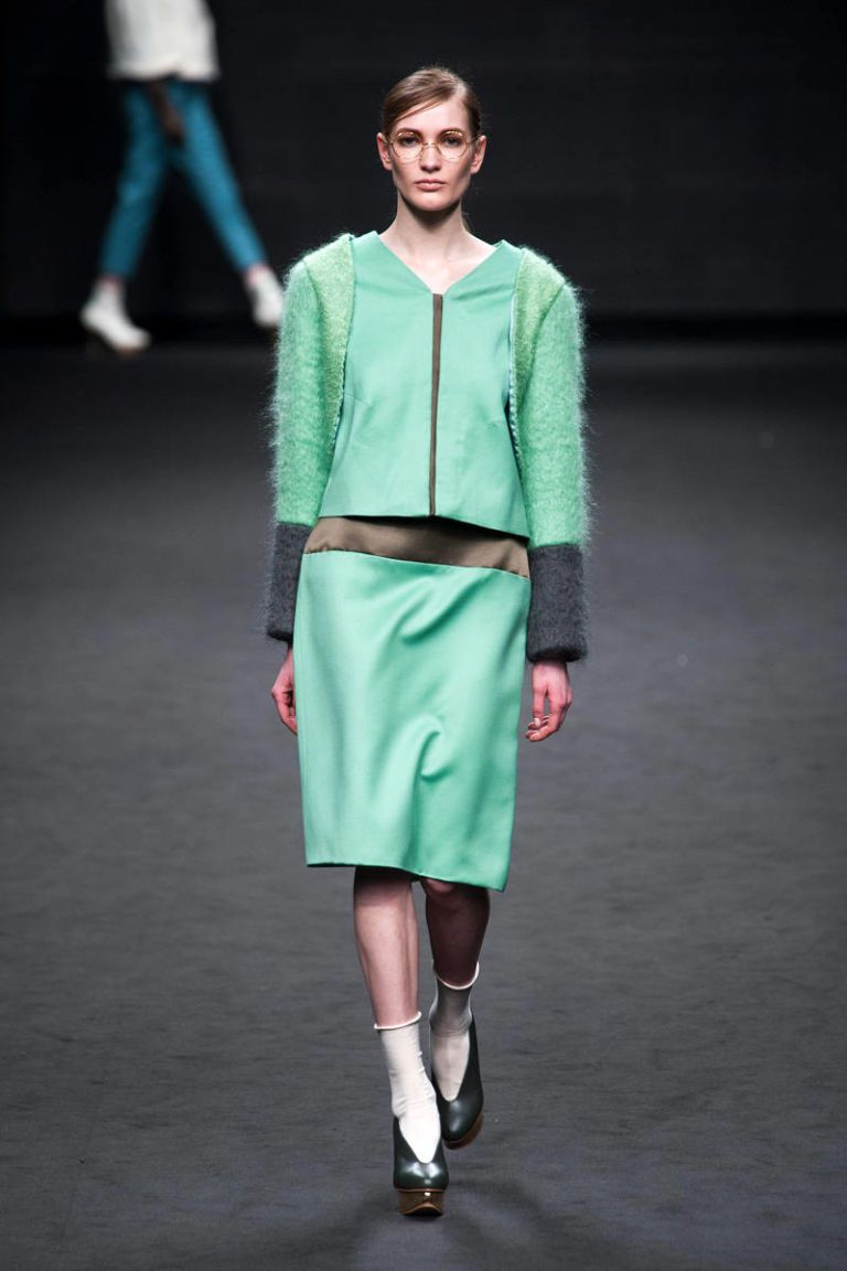 ji youn jang fall 2013 ready-to-wear photos