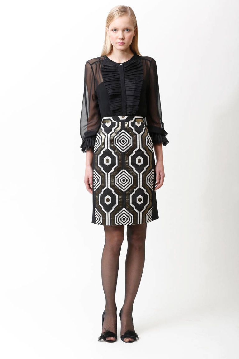 badgley mischka pre-fall 2013 photos