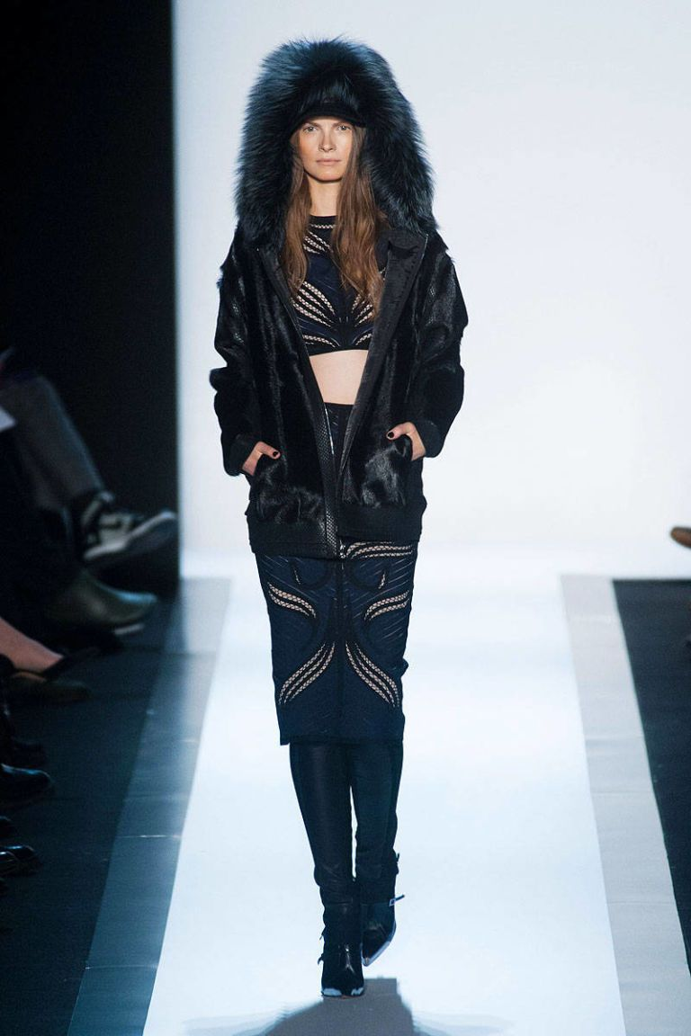 herve leger by max azria fall 2013 ready-to-wear photos