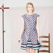 Clothing, Product, Sleeve, Human leg, Shoulder, Textile, Joint, Dress, White, Style,