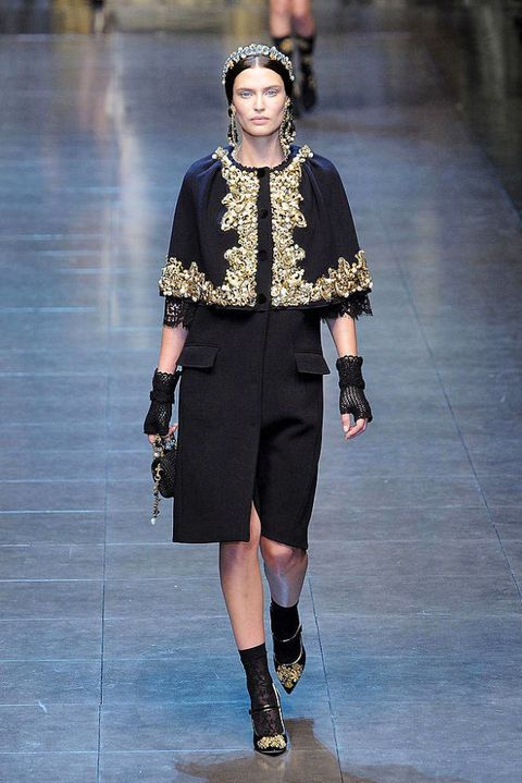 9b97075640a6 Dolce   Gabbana. See the entire collection from the Dolce   Gabbana Fall  2012 ...