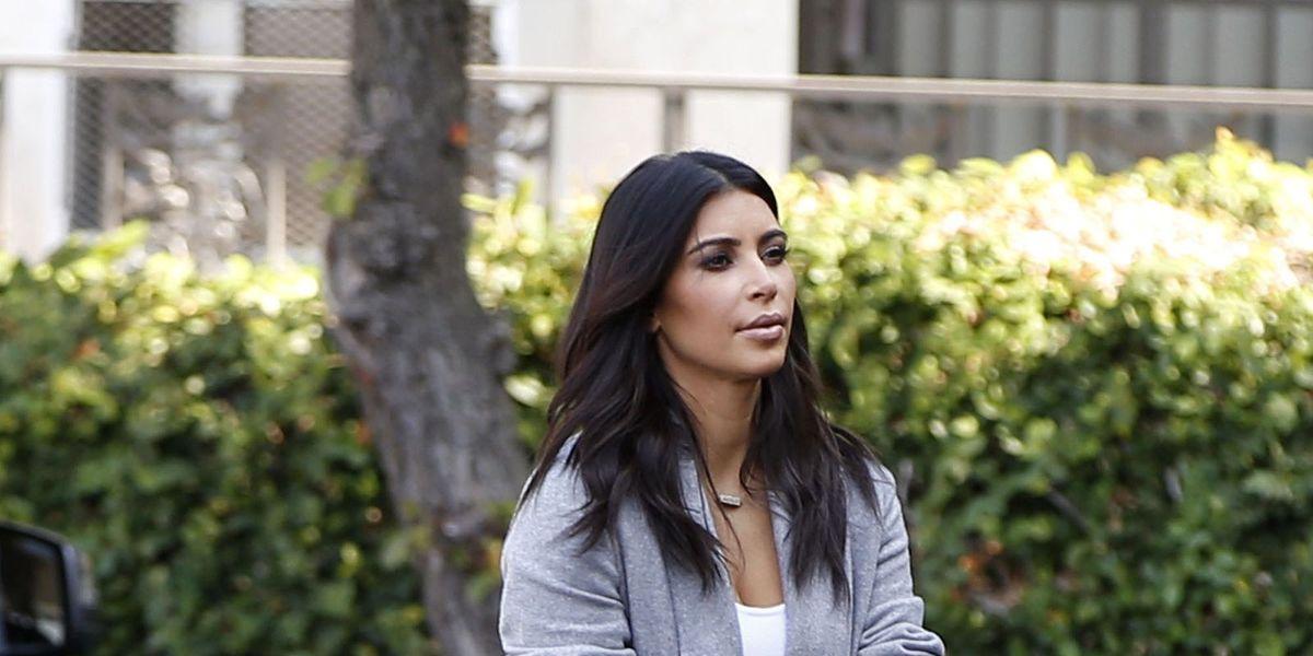 Here's the Hermès Bag North West Painted for Mom Kim Kardashian